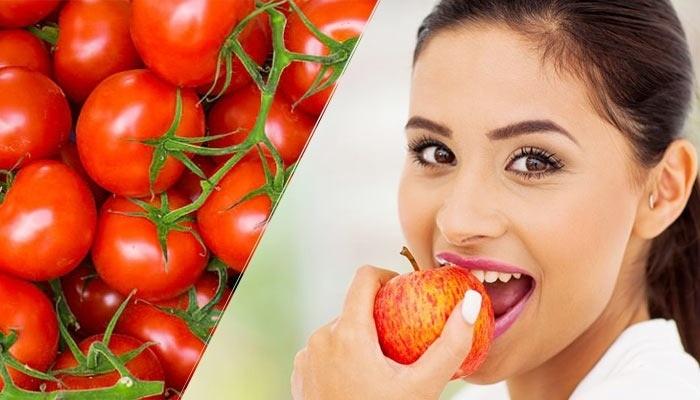 Rutin Konsumsi Tomat dan Apel Perbaiki Paru-Paru Mantan Perokok
