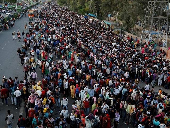 Kekacauan Akibat Lcokdown di India