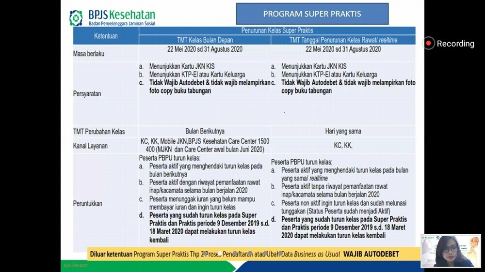 Program Super Praktis BPJS