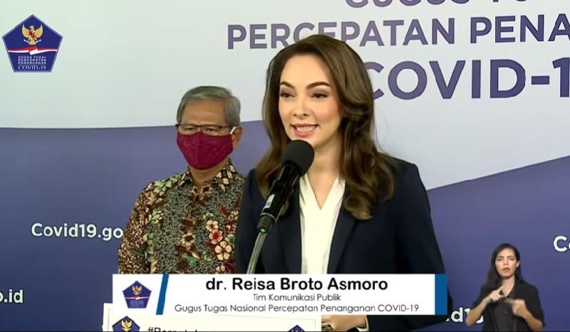 Dokter Reisa Broto Asmoro, Segarkan Gugus Tugas COVID-19