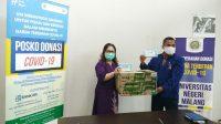 Satgas COVID-19 UM Terima Bantuan Masker dari GuangXi Normal University dan Wuling