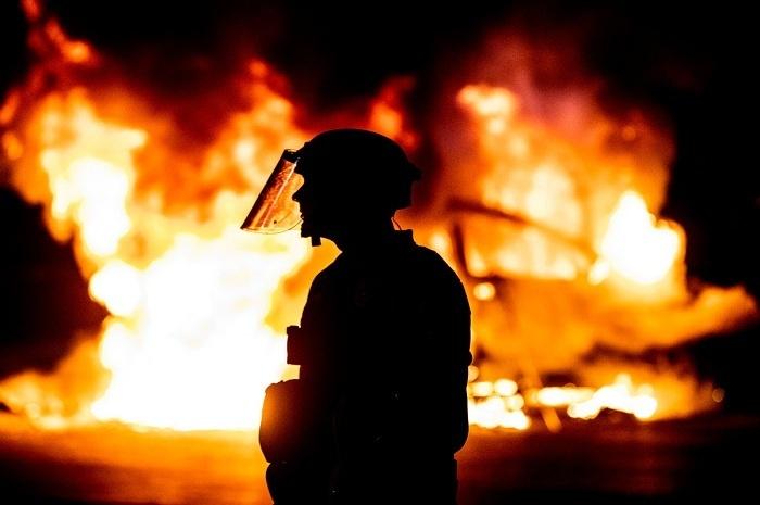 Aksi Pembakaran di Texas