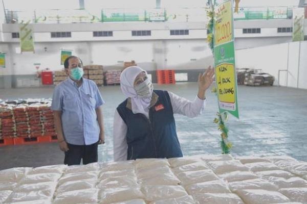 Setelah Surabaya Raya, Layanan Lumbung Pangan Jatim Diperluas ke 5 Kota/Kabupaten