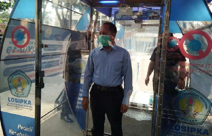 Sambut New Normal, ITN Siapkan Bilik Disinfektan Losipka