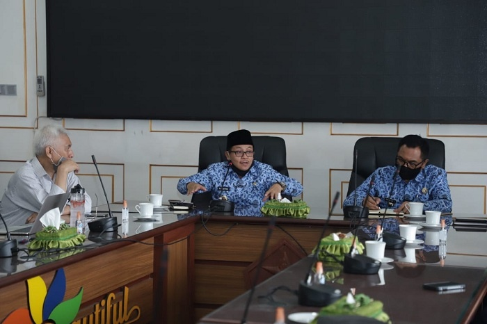 Walikota Sutiaji dan Wawali Sofyan Edi Jarwoko