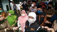 Tinjau Rapid Tes di Ponpes Al-Hikam Malang, Gubernur Khofifah Minta Doa Pandemi COVID-19 Segera Berakhir