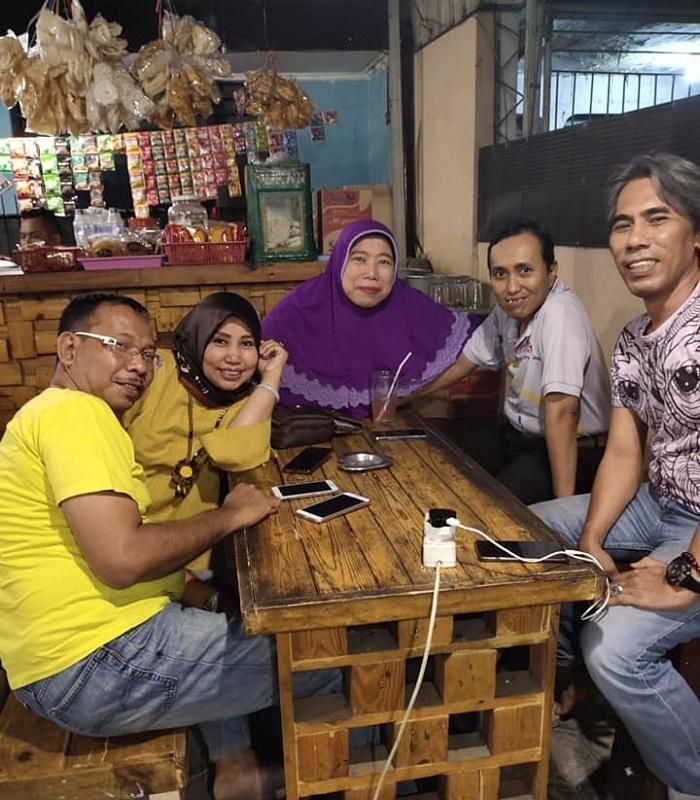 Didik Haryono Bersama Rekan2 Sesama Alumni SMPN 12 Sby