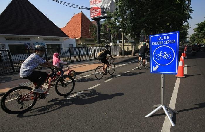 Dishub Surabaya Siapkan Lajur Khusus agar Pesepeda Lebih Tertib dan Aman