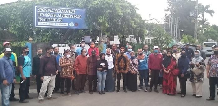 Para Pegiat Kampung Tematik Kota Malang