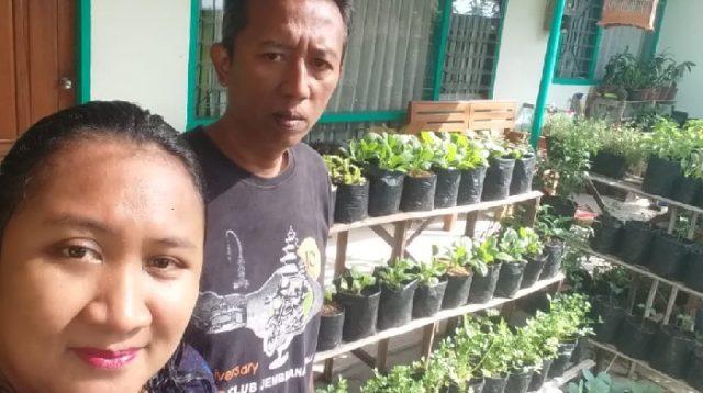 Dadik dan Amita, Pasutri yang Kompak Hobi Berkebun