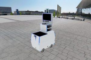 Hosiro-Usiro, Robot Buatan Mahasiswa ITS untuk Bantu Penanganan COVID-19