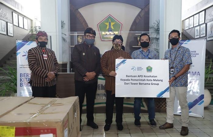 TBiG Jakarta Berikan Bantuan untuk Penanggulangan COVID-19 di Kota Malang