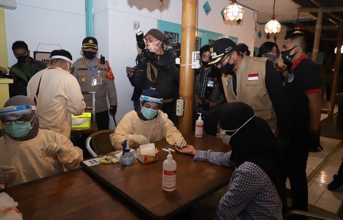 Opsgab Dapati 1 Orang Reaktif dan Segera Dikirim ke Rumah Isolasi