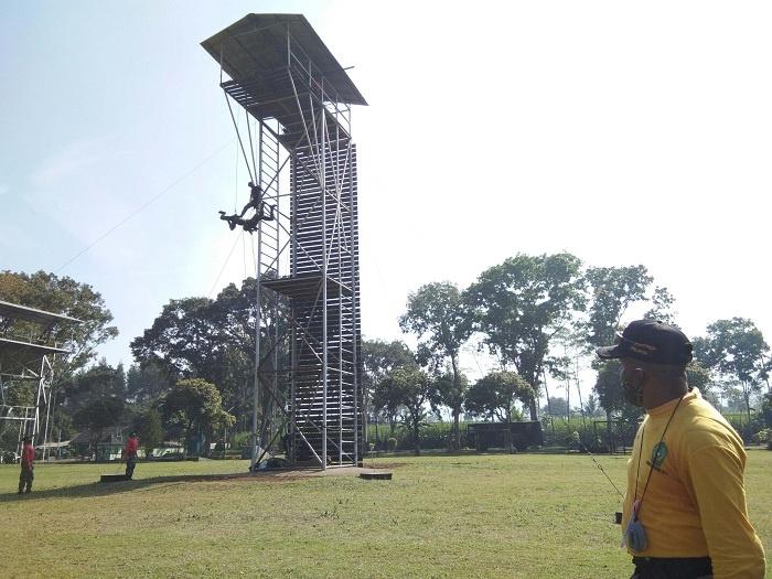 Salah Satu Latihan Rutin Prajurit Brigif Para Raider 18-Divif 2 Kostrad