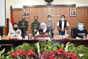Kampanye Bermasker, Pesan Gubernur Khofifah untuk Warga Malang Raya