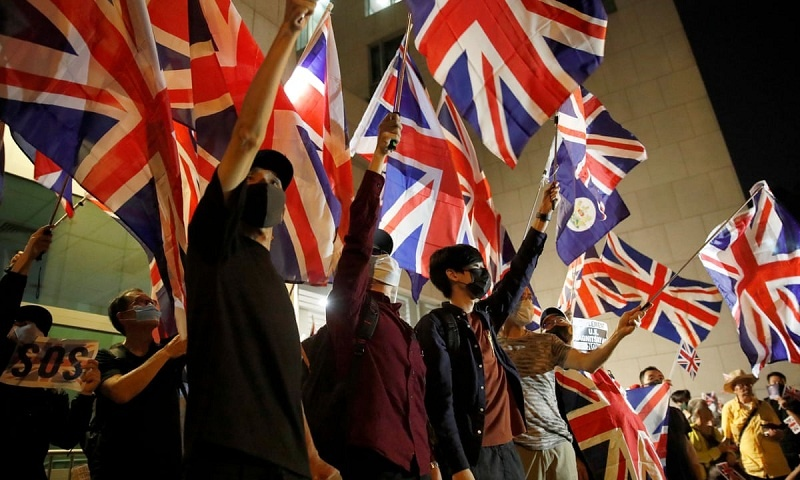Inggris Buka Jalur Khusus Kewarganegaraan bagi Warga Hong Kong