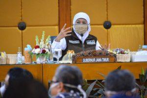 Gubernur Khofifah Ajak Warga Jatim Jaga Ketat Protokol Kesehatan Saat Gelar Sholat Idul Adha