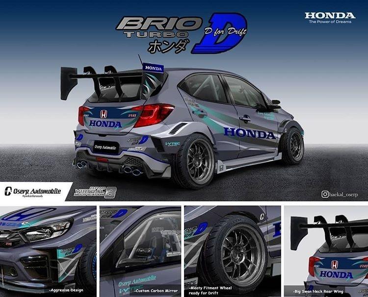 Brio Turbo D Pemenang Brio Virtual Modification #3