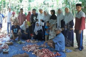 Amira Bilqis Rayakan Idul Adha di Desa Terpencil di Sumenep