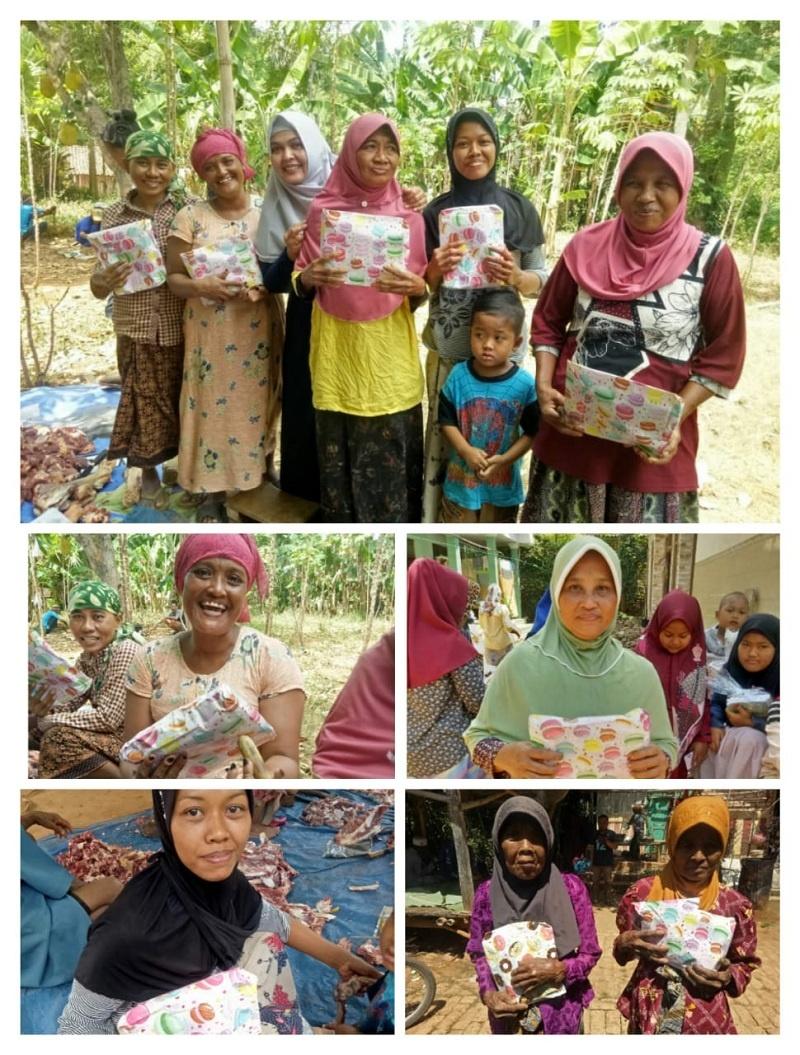 Pemberian Bingkisan Hadiah bagi Para Ibu