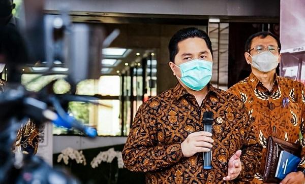 Erick Thohir, Menteri BUMN