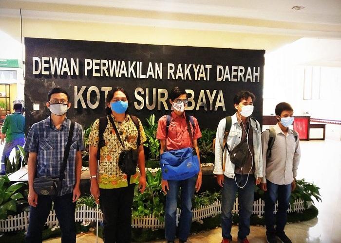 Saat ke DPRD Surabaya