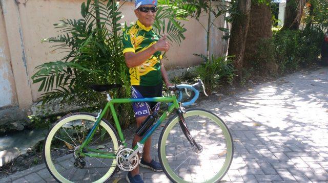 Jelang Ulang Tahunnya ke-79, Mantan Pebalap Nasional Rencanakan Bersepeda Surabaya-Jakarta