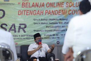Pasar Rakyat Online Katrol Pertumbuhan Ekonomi di Kota Malang