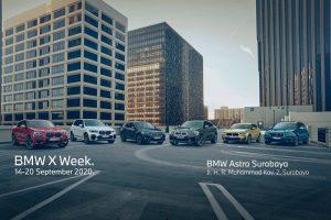 Gelar BMW X Week, BMW Astra Pamerkan Seluruh Model SAV di Jawa Timur