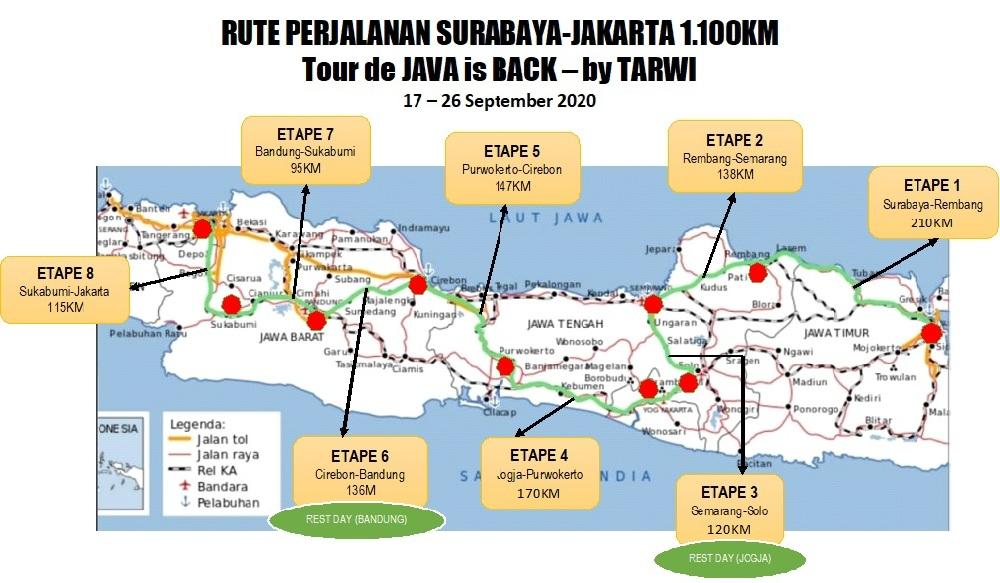 Etape Ketiga Semarang-Jogja Diubah Semarang-Solo