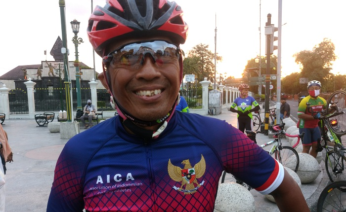 Mantan Asisten Barengi Nggowes Hingga Finish di Purwokerto