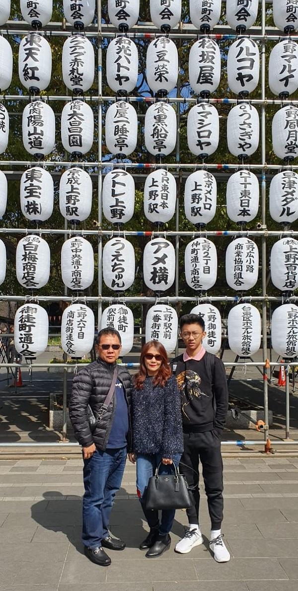 Berlibur di Jepang