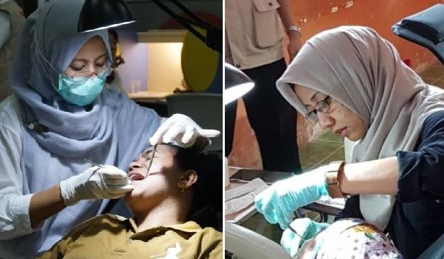 Baksos sebagai dokter gigi