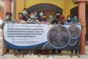 Bantu Olah Air Bersih, ITS Aplikasikan Proses Reverse-Osmosis Membrane