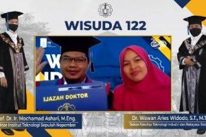 Wisuda ke-122, ITS Luluskan 2.866 Mahasiswa
