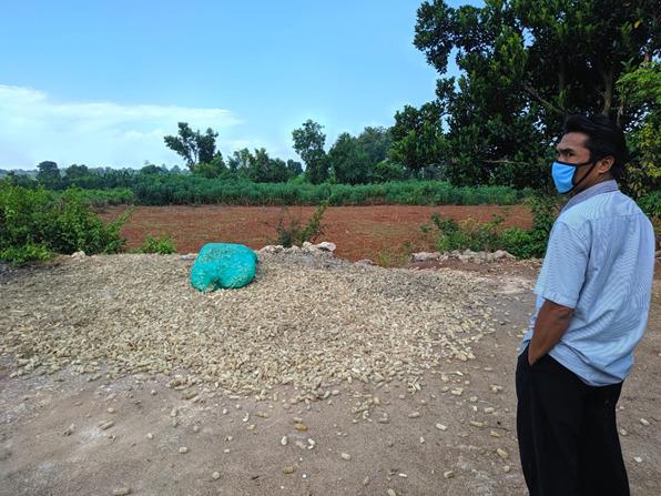 Limbah bonggol jagung
