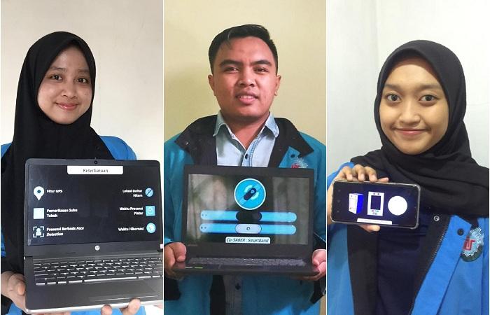 Tekan Penyebaran COVID-19, Mahasiswa ITS Gagas Teknologi Co-Saber