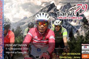 Batal dengan Unesa, Tarwi 79th Virtual Challenge 6 Hours Tetap Digelar