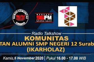 Radio Mercury 96 FM Gelar Talkshow Bareng IkaRholaz