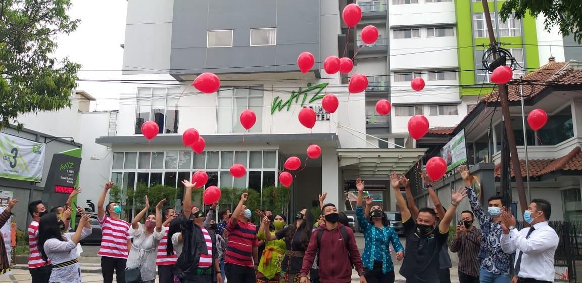 Rayakan HUT ke-3, Whiz Prime Hotel Malang Gelar Aneka Kegiatan Sosial