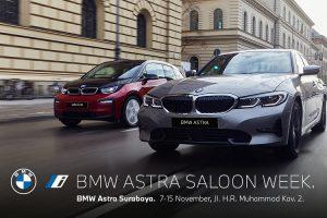 BMW Astra Saloon Week, Hadirkan Seluruh Model Sedan & Mobil Listrik di Jatim