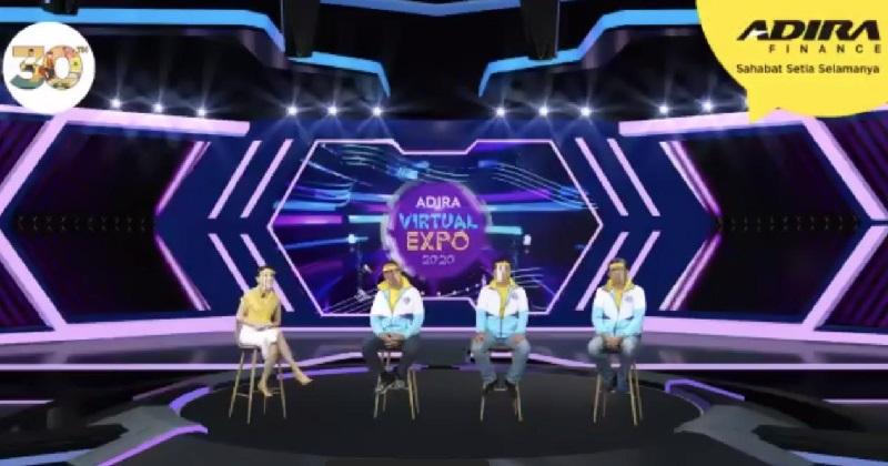 Resmi Dibuka, Adira Finance Dorong Pertumbuhan Ekonomi Melalui Adira Virtual Expo 2020