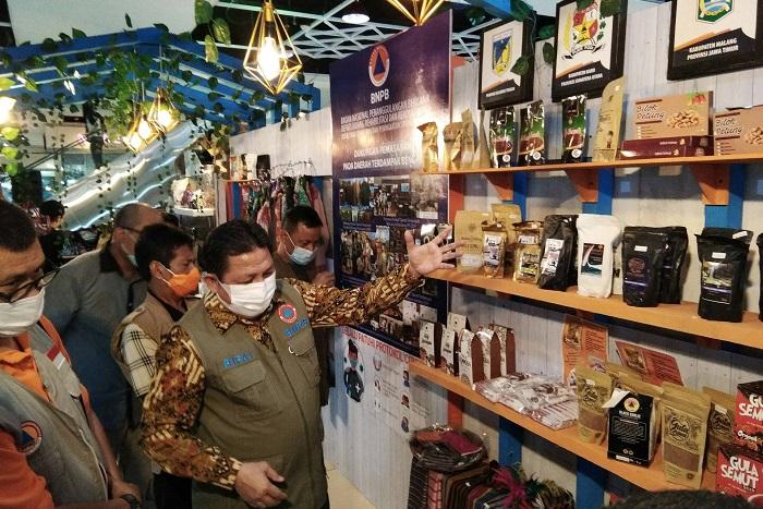 BNPB Beri Dukungan UMKM Warga Terdampak Bencana