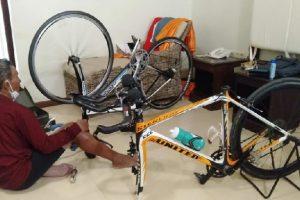 Sepeda Legendaris Milik Tarwi Hilang!