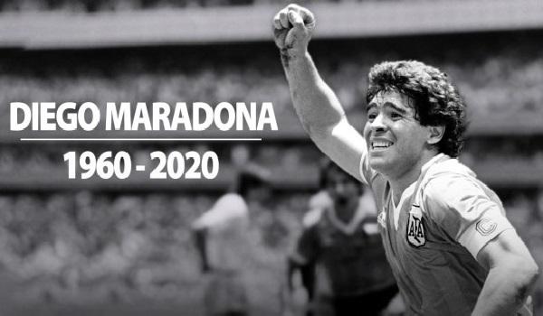 RIP Maradona, Sang Legenda Sepakbola