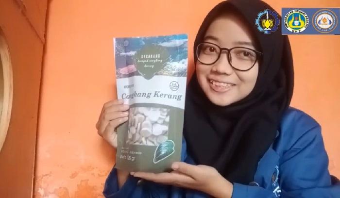 Kecarang, Kerupuk Cangkang Kerang Hijau Gagasan Mahasiswa ITS