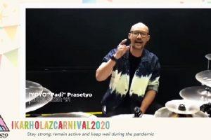 IC2020, Karnaval Pertama IKARHOLAZ Melawan Pandemi Global