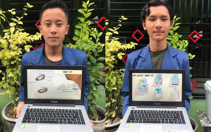 2 Mahasiswa ITS pencipta SMAF-DT
