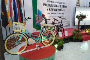 SMK Nasional Malang Ubah Sepeda Bekas Menjadi E-Bike