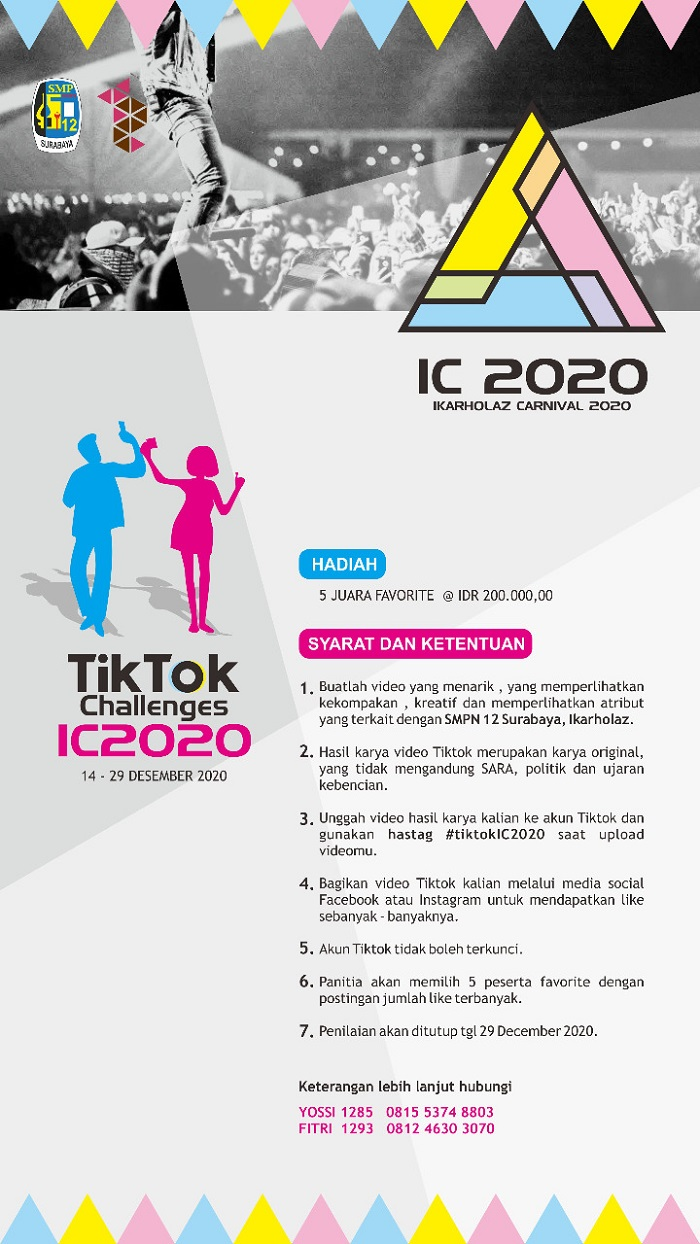 Flyer TikTok Challenges